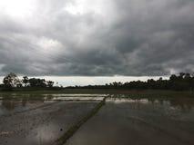 σύννεφο βροχερό Στοκ φωτογραφίες με δικαίωμα ελεύθερης χρήσης