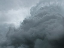 σύννεφο δραματικό Στοκ φωτογραφίες με δικαίωμα ελεύθερης χρήσης