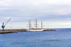 Σύννεφο 2 θάλασσας άγκυρες στο νέο Στοκ Φωτογραφίες