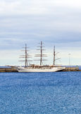 Σύννεφο 2 θάλασσας άγκυρες στο νέο Στοκ φωτογραφίες με δικαίωμα ελεύθερης χρήσης