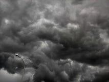 Σύννεφο θύελλας Στοκ Φωτογραφία