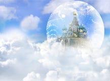σύννεφο κάστρων διανυσματική απεικόνιση