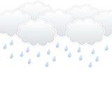 Σύννεφο και βροχή Στοκ Εικόνες