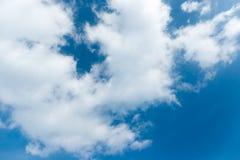 Σύννεφο και ουρανός Στοκ Εικόνα
