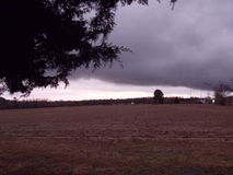 Σύννεφο ΚΑΠ στον ουρανό Στοκ Φωτογραφία