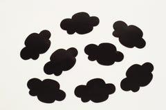 σύννεφο κινούμενων σχεδί&omeg Στοκ Φωτογραφίες