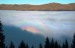 Σύννεφο-κούκος-έδαφος Τρανσυλβανία Στοκ φωτογραφίες με δικαίωμα ελεύθερης χρήσης
