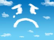 σύννεφο λυπημένο Στοκ φωτογραφίες με δικαίωμα ελεύθερης χρήσης