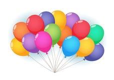 Σύννεφο μπαλονιών Στοκ Εικόνες