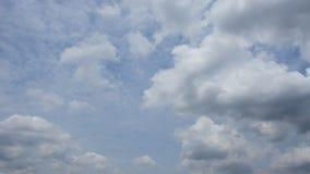 Σύννεφο μπλε ουρανού, Timelapse απόθεμα βίντεο