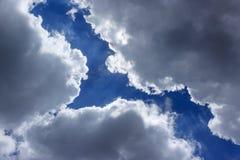 Σύννεφο ρωγμών Στοκ φωτογραφία με δικαίωμα ελεύθερης χρήσης
