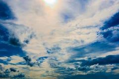 Σύννεφο στον ουρανό Στοκ φωτογραφία με δικαίωμα ελεύθερης χρήσης