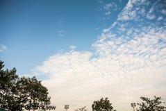 Σύννεφο στον ουρανό Στοκ φωτογραφίες με δικαίωμα ελεύθερης χρήσης