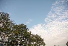 Σύννεφο στον ουρανό Στοκ εικόνα με δικαίωμα ελεύθερης χρήσης