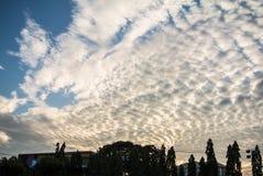 Σύννεφο στον ουρανό Στοκ Εικόνες