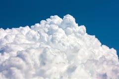 Σύννεφο σωρειτών σύστασης Στοκ εικόνα με δικαίωμα ελεύθερης χρήσης