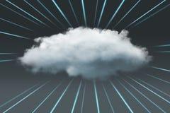 σύννεφο του 2010 που υπολ&omicron Στοκ Φωτογραφίες