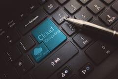 σύννεφο του 2010 που υπολ&omicron Στοκ Εικόνες