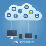 σύννεφο του 2010 που υπολ&omicron Στοκ εικόνες με δικαίωμα ελεύθερης χρήσης