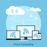 σύννεφο του 2010 που υπολ&omicron Στοκ φωτογραφία με δικαίωμα ελεύθερης χρήσης