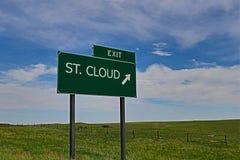 Σύννεφο του ST στοκ φωτογραφίες με δικαίωμα ελεύθερης χρήσης