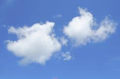 Σύννεφο 2 φραντζόλες Στοκ Εικόνες