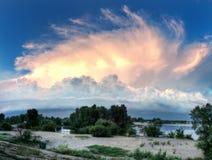 Σύννεφο χελωνών στοκ φωτογραφίες