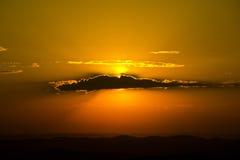 σύννεφο χρυσό Στοκ Φωτογραφία