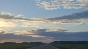 Σύννεφο όπως έναν δράκο Στοκ Εικόνα