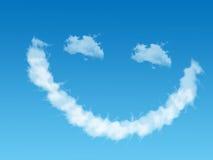 σύννεφο smilie Στοκ Φωτογραφίες