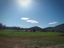 Σύννεφο Sunyy Στοκ Εικόνα