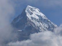Σύνοδος κορυφής Annapurna από το Hill Poon, Νεπάλ Στοκ φωτογραφία με δικαίωμα ελεύθερης χρήσης
