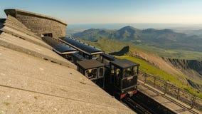 Σύνοδος Κορυφής Snowdon, Gwynedd, Ουαλία, UK στοκ εικόνες