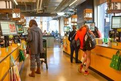 σύνολο αγοράς τροφίμων Στοκ Φωτογραφίες