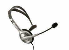 σύνολο ακουστικών Στοκ εικόνα με δικαίωμα ελεύθερης χρήσης