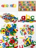 σύνολο αλφάβητου Στοκ Φωτογραφίες