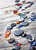 Σύνολο από τα εκλεκτής ποιότητας κουμπιά Στοκ Εικόνα