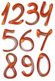 σύνολο αριθμού Στοκ εικόνα με δικαίωμα ελεύθερης χρήσης