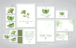 Σύνολο για τη γαμήλια εκτύπωση: προσκλήσεις, κάρτες για τους φιλοξενουμένους, κώδικας ντυσίματος, πίνακες στοκ φωτογραφίες με δικαίωμα ελεύθερης χρήσης