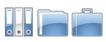 σύνολο γραφείων 5 εικονι&d Στοκ φωτογραφίες με δικαίωμα ελεύθερης χρήσης