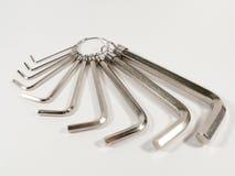 Σύνολο δεκαεξαδικού ή γαλλικών κλειδιών Άλλεν στοκ φωτογραφίες με δικαίωμα ελεύθερης χρήσης