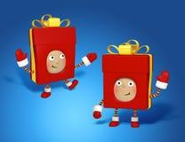 Σύνολο δώρων Χριστουγέννων Στοκ Φωτογραφίες
