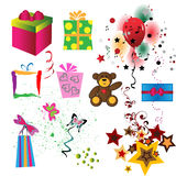 σύνολο δώρων Στοκ εικόνα με δικαίωμα ελεύθερης χρήσης