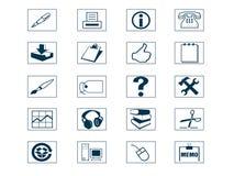 σύνολο εικονιδίων Στοκ εικόνες με δικαίωμα ελεύθερης χρήσης
