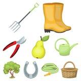 Σύνολο εικόνων για την κηπουρική διανυσματική απεικόνιση