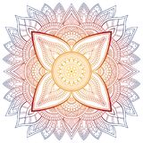Σύνολο εκλεκτής ποιότητας κάρτας γαμήλιας πρόσκλησης με το σχέδιο Mandala και στο χρώμα Στοιχείο περισυλλογής για τη γιόγκα της Ι ελεύθερη απεικόνιση δικαιώματος