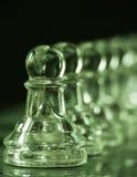σύνολο ενέχυρων σκακιού Στοκ φωτογραφία με δικαίωμα ελεύθερης χρήσης
