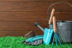 Σύνολο επαγγελματικών εργαλείων κηπουρικής Στοκ φωτογραφία με δικαίωμα ελεύθερης χρήσης