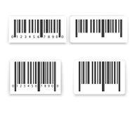Σύνολο ετικετών γραμμωτών κωδίκων Στοκ εικόνα με δικαίωμα ελεύθερης χρήσης
