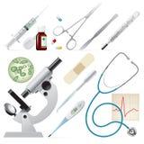 σύνολο ιατρικής Στοκ εικόνα με δικαίωμα ελεύθερης χρήσης